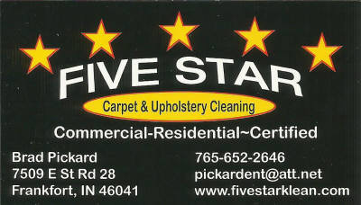 Five Star Carpet And Upholstery Cleaning